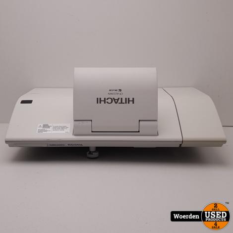 Hitachi CP-A222WN Beamer || Met AB || Met kabels || Met garantie