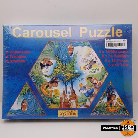 Carousel puzzel Pocahontas || Nieuw in seal || Met garantie
