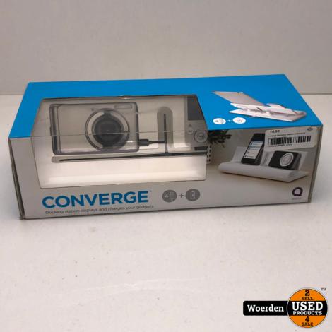 Converge Docking station || Nieuw in doos || Met garantie