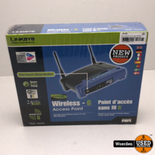 Linksys Wireless acces point WAP54G router || Nieuw in doos || Met garantie