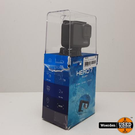 GoPro Hero 7 || Silver || Met bon 24-06-2019 || Met garantie
