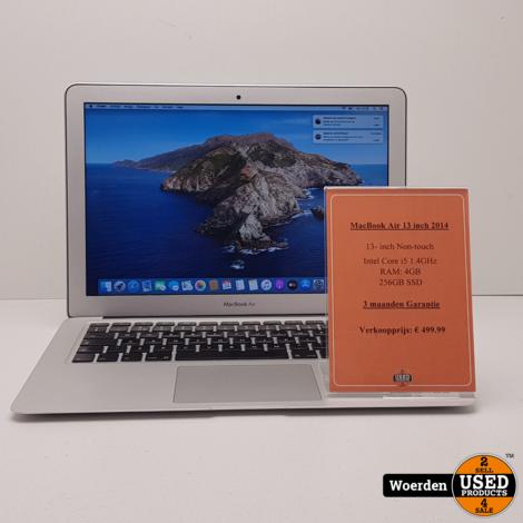 Macbook Air 2014 13inch i5 1.4Ghz|4GB|256GB