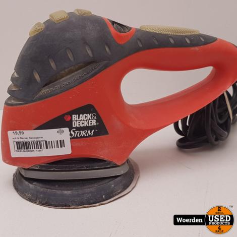 Black & Decker Sandstorm Schuurmachine met Garantie
