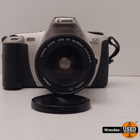 Canon EOS300 Analoge Camera + EF 28-80 mm f/3.5-5.6 met Garantie