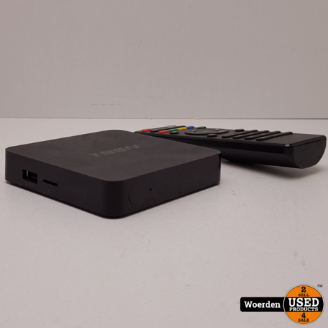 Mini tv box 4K mediaspeler in nette staat met Garantie