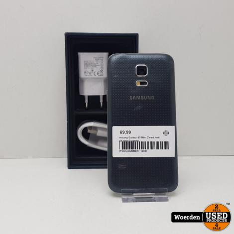 Samsung Galaxy S5 Mini Zwart Nette Staat met Garantie