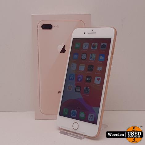 iPhone 8 Plus 64GB Goud in Nette Staat met Garantie