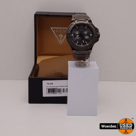 Guess Herenhorloge W0040G2 Mens Sport met Garantie