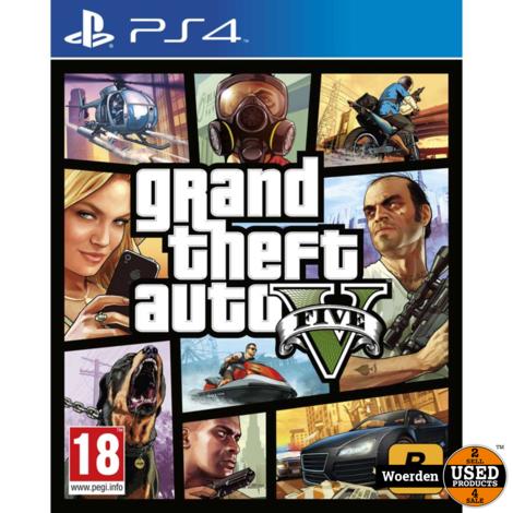 Playstation 4 PS Game: GTA V