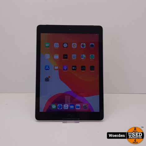 iPad 2017 32GB 4G Space Gray Nette Staat met Garantie