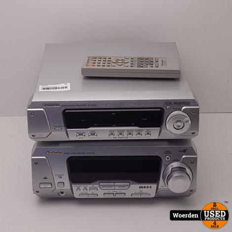 Technics SH-EH760 Versterker + Tuner incl AB met Garantie