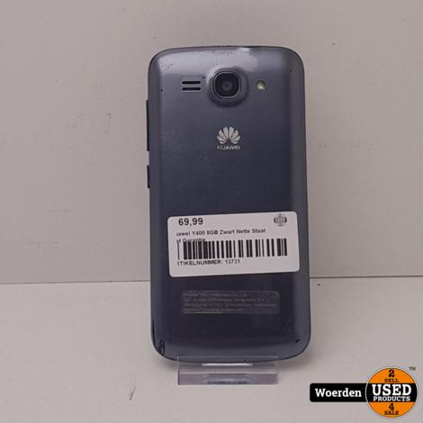 Huawei Y400 8GB Zwart Nette Staat met Garantie
