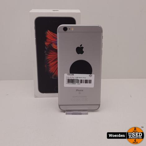 iPhone 6S Plus 16GB Space Gray Accu 97 met Garantie