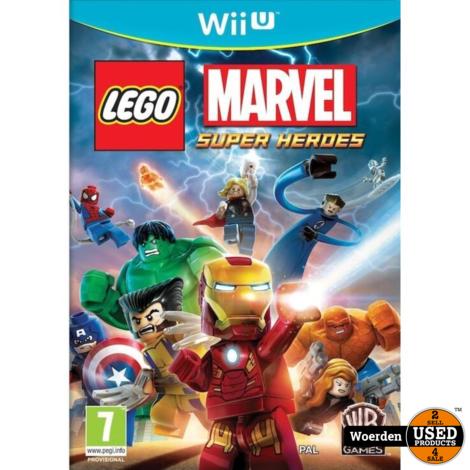 Nintendo Wii U Game: Marvel Super Heroes