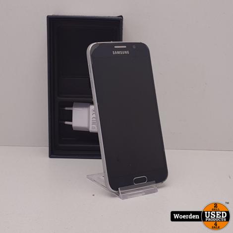 Samsung Galaxy S6 32GB Blauw Nette Staat met Garanite