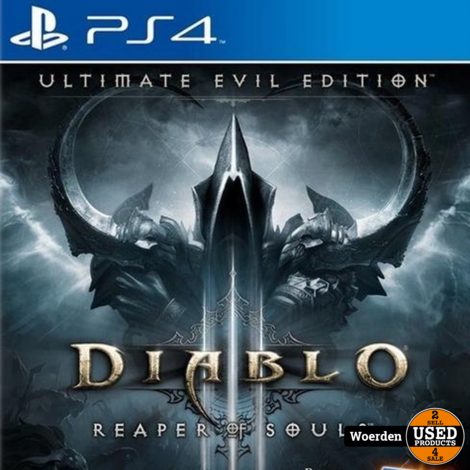 Playstation 4 PS4 Game: Diablo Reaper of Souls