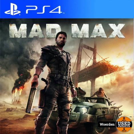 Playstation 4 PS4 Game:Mad Max