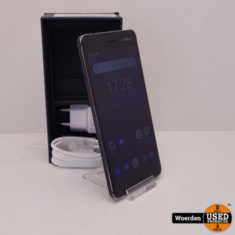 Nokia 6.1 32GB Zwart Nette Staat met Garantie