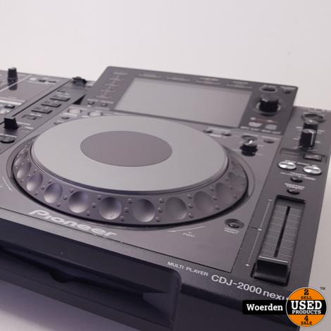 2 x Pioneer CDJ2000 NXS + DJM900 NXS NEXUS ZGAN met Garantie