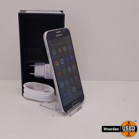 Samsung Galaxy S6 32GB Blauw Nette Staat met Garantie