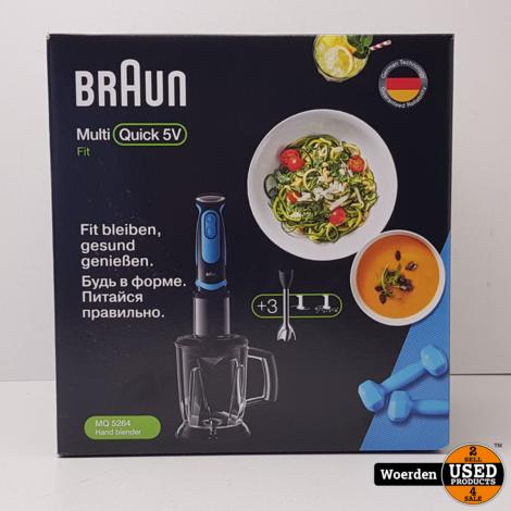 Braun staafmixer MQ5264 NIEUW in Doos met Garantie