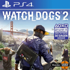 Playstation 4 PS4 Game: Watch Dogs 2