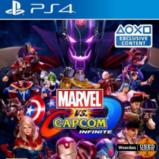 Playstation 4 PS4 Game: Marvel vs Capcom infinite