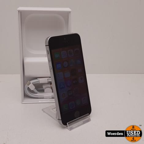 iPhone SE 32GB Space Gray Accu 95 met Garantie