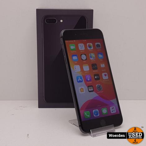 iPhone 8 Plus 64GB Space Gray Nette Staat met Garantie