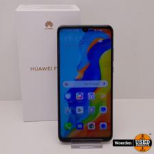 Huawei P30 Lite Zwart Nette Staat met Garantie
