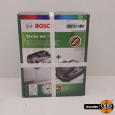 Bosch Advanced Starter Kit 18V 2.5Amp met Garantie