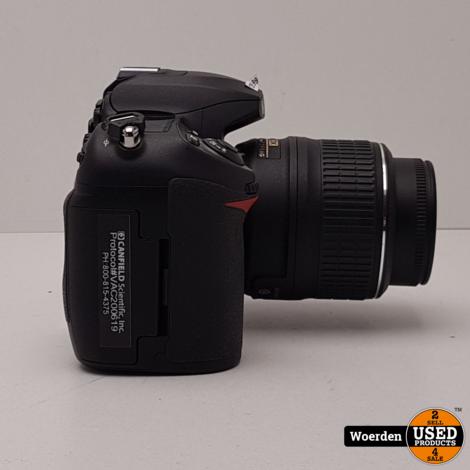 Nikon D200 met Nikon DX 18-55mm lens