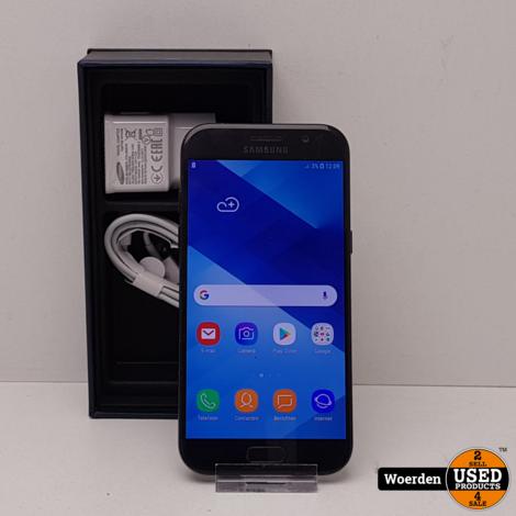 Samsung Galaxy A5 2017 Zwart in Nette Staat met Garantie