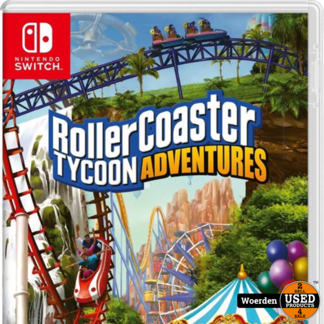 Nintendo switch game: RollerCoaster Tycoon Adventures
