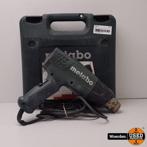 METABO H 16-500 Heteluchtpistool in Koffer met Garantie