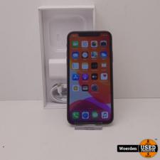 iPhone X 64GB Space Gray Accu 97 met Garantie