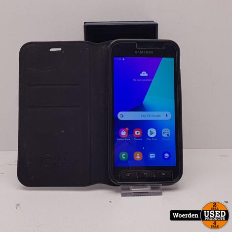 Samsung Galaxy Xcover 4 16GB Zwart in Nette Staat met Garantie