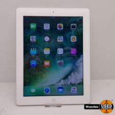 iPad 4 16GB Wit WiFi Nette Staat met Garantie