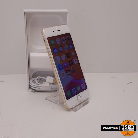 iPhone 7 32GB Goud Accu 90 Nette Staat met Garantie