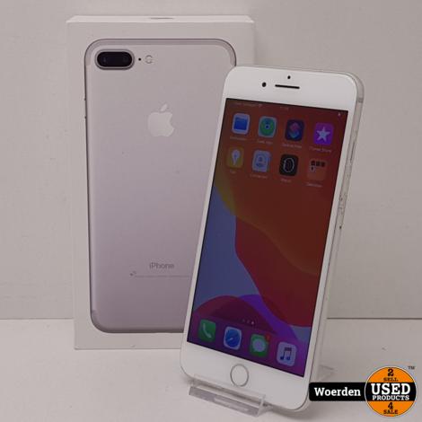 iPhone 7 Plus 128GB Zilver NIEUWE ACCU met Garantie