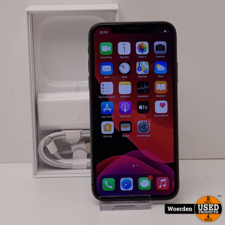 iPhone X 64GB Space Gray Nette Staat met Garantie
