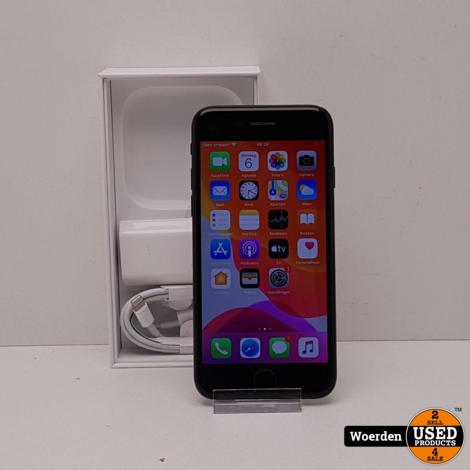 iPhone 7 32GB Zwart Nette Staat met Garantie