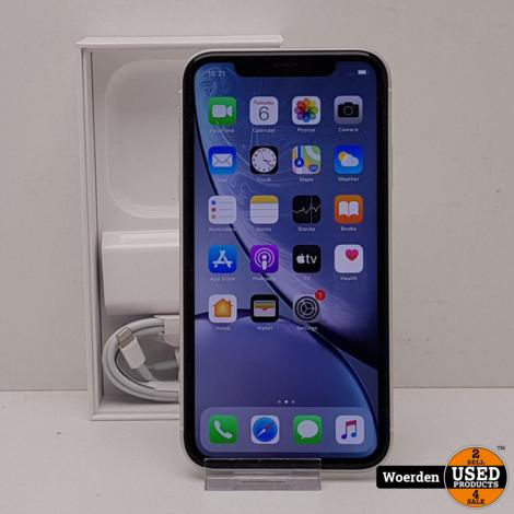 iPhone XR 64GB Wit Nette Staat met Garantie