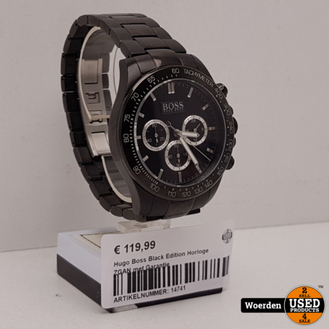 Hugo Boss Black Edition Horloge ZGAN met Garantie