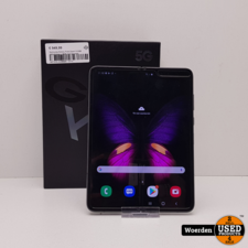 Samsung Galaxy Fold Zwart 512GB ZGAN + BON met Garantie