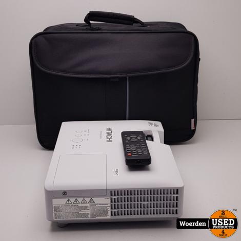 Hitachi CP-X3030WN Beamer incl Afstandbediening met Garantie