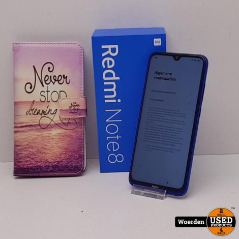 Redmi Note 8 64GB Blaue ZGAN met Garantie