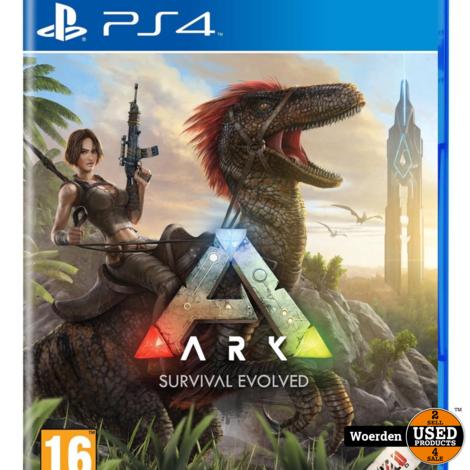 Playstation 4 Game: Ark Survival Evolved