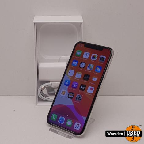 iPhone X 64GB Wit Face iD Defect met Garantie