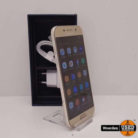 Samsung Galaxy A5 2017 Goud Nette Staat met Garantie